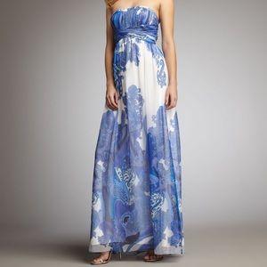 Aidan Mattox Paisley print gown. WORN 1x !!!